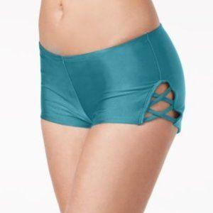 Hula Honey Strappy Swim Boy Shorts